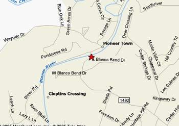 Priddy Meadow Rv Park Wimberley Texas Location